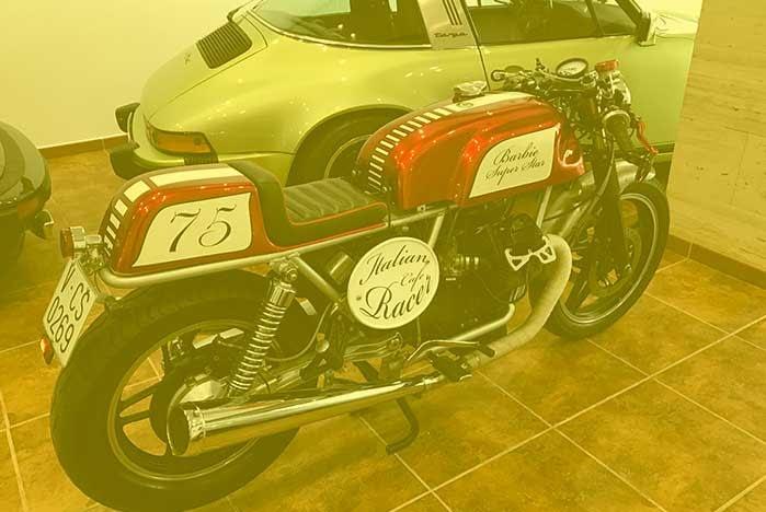 Restauracion de Motos antiguas clasicas de epoca en Valencia · ARG Restauracion o