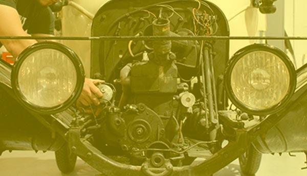 Restauracion de coches clasicos de epoca antiguos en Valencia · ARG Restauracion Classics