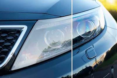 restauracion reparación pulido de faros de coches autos en valencia · ARG Restauracion